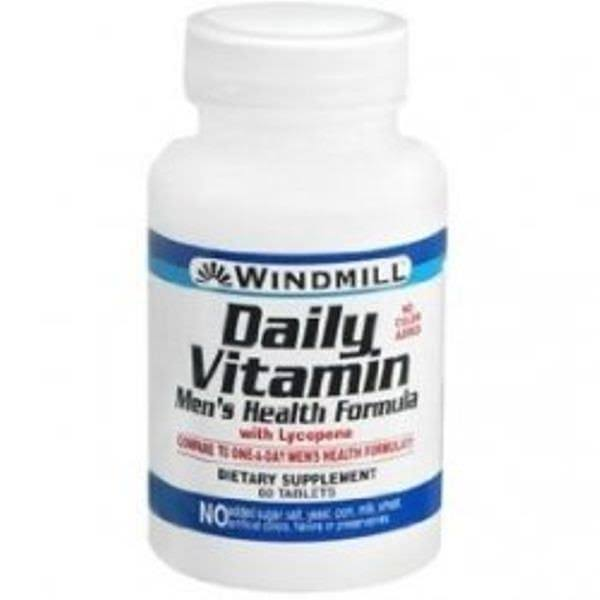 Windmill Daily Vitamin Men's Health Formula - 60 Tablets