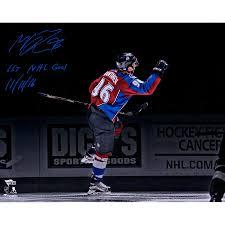 Autographed Colorado Avalanche Mikko Rantanen Fanatics Authentic 16