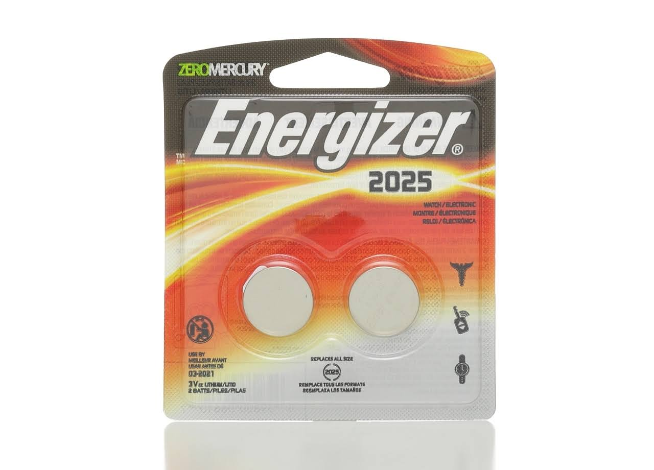 Energizer Watch Electronic Lithium Coin Cell Battery - 3V, 2pk