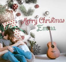 fototapete wohnzimmer weihnachten mit namen