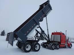 100 End Dump Truck 1998 Clement 26 Tandem Quarter Frame Dump Trailer Little