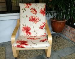 Poang Chair Cushion Blue by Ikea Poang Chair Cushion Cover Orange Kittens