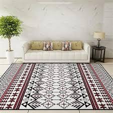 national style living room decorative carpet floor door