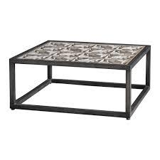 Uttermost Baruti Industrial Coffee Table Rustic Bedroom Decor