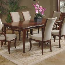 Perfect Wooden Dining Room Table For A Lovely Thanksgiving Dinner