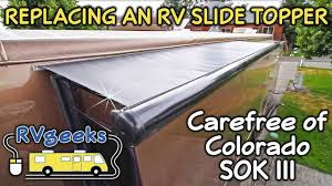 Carefree TT0970042W SideOut Kover II Slideout Awning Cover - YouTube Rv Awnings Online Full Time Living Diy Slide Out Awning With Your Special Van Canopy Awning Bromame Amazoncom Cafree Uq0770025 Sideout Kover Iii Automotive Uq08562jv 7885 Slideout Johnthervman Maintenance Everything You Need To Know 86196 Slidetopper Cover Assembly V Installation Repair Club 2013 Rockwood Roo 23 Ikss Expandable Hybrid 15oz Heavy Duty Vinyl Slideout Replacement Fabric Tough Top