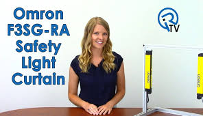 Omron Sti Light Curtains by Omron F3sg Ra Safety Light Curtain Youtube