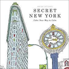 Fishpond Australia Secret New York Color Your Way To Calm By Zoe De Las Cases Illustrated Buy Books Online