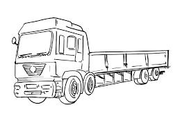 Camion Coloriages Des Transports Page 2