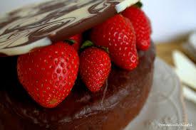 Chocolate Box with Strawberries