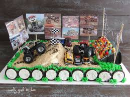 100 Monster Truck Party Ideas Fea28 Homemade Monster Truck Birthday Cake Jayden Birthday