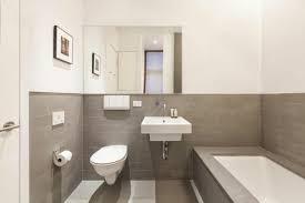 moderne deko idee zeitgenössisch badezimmer grau beige