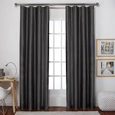 Walmart Curtain Rod Clips by Exclusive Home Bolero Faux Silk Clip Ring Rod Pocket Window