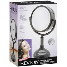 revlon timeless beauty lighted swivel mirror walmart com