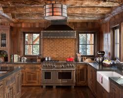 Log Cabin Kitchen Ideas by Cabin Kitchen Design Inspiring Exemplary Best Ideas About Log