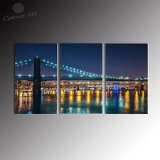 2017 no framed modern 3 panel wall decor canvas prints art new