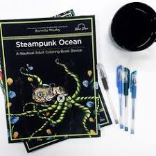 A Nautical Morning Spent With Our Steampunk Ocean Book