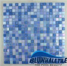jade blue blend bgc007 mosaic tile glass mosaic glass pool tile