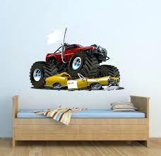 Monster Wall Decal Full Colour Monster Truck Wall Decal Car Wall Art ... Monster Jam Giant Wall Decals Tvs Toy Box Bigfoot Truck Body Wdecals Clear By Traxxas Tra3657 Stickers Room Decor Energy Decal Bedroom Maxd Pack Decalcomania 43 Sideways Creative Vinyl Adhesive Art Wallpaper Large Size Funny Sc10 Team Associated And Vehicle Graphics Kits Design Stock Vector 26 For Rc Cars M World Finals Xvii Competitors Announced All Ideas Of Home Site Garage Car Unique Gift