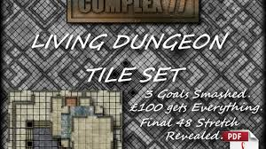 Dungeons And Dragons Tiles Sets by Living Dungeon Tile Set Pdf By Complex 77 U2014 Kickstarter