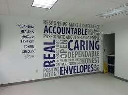 Wall Art Designs Office Environmental Workplace Corporate Culture