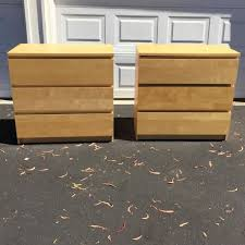 malm 3 drawer chest chest of drawers