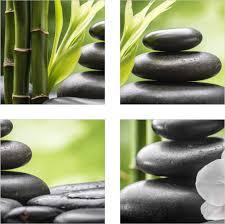 home décor fliesenaufkleber fliesenbild wellness spa bambus