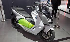 BMW Unveils C Evolution Electric Scooter Concept 2012 Paris Auto