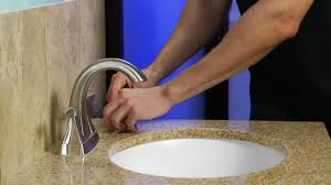 installing a pfister 4 centerset bathroom faucet with a push