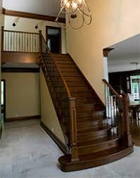 un palier d escalier types d escaliers