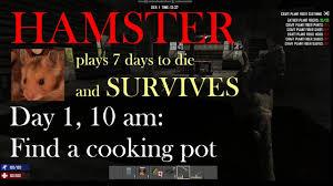 7 days to die alpha 15 tutorial day 1 10 am find a cooking