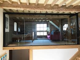 100 Barn Conversions For Sale In Gloucestershire Glass Partitioning At Conversion Project Frampton On Severn