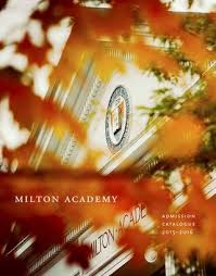 Admission Catalogue By Milton Academy