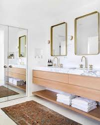 2019 Best Farmhouse Bathroom Mirror Design Ideas And Decor ... Bathroom Mirrors Ideas Latest Mirror For A Small How To Frame A Home Design Inspiration 47 Fascating Dcor Trend4homy The Cheapest Resource For Master Large Makeover Elegant 37 Greatest Vanity And 5 Double Contemporist Fill Whole Wall Vanities Best Getlickd Hgtv 38 Reflect Your Style Freshome