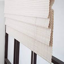 zaq bambusrollo rollos weiße römische fenstervorhänge patio schlafzimmer badezimmer blackout bambusrollo 80 cm 100 cm 120 cm 130 cm 140 cm