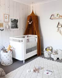 Bratt Decor Joy Crib by Gender Neutral Nursery Room Gold Mustard Canopy With Wood Look