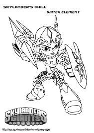 Skylanders Trap Team Coloring Pages Within Skylander Printable