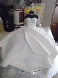 10 best wedding dress cakes images on Pinterest
