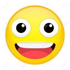 Smiling Emoji Laugh Emotion Sweet Happy Emoticon Vector Illustration Smile Icon Stock
