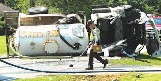 100 Septic Truck A Real Shifty Situation Man Cut Free From Overturned Septic Truck