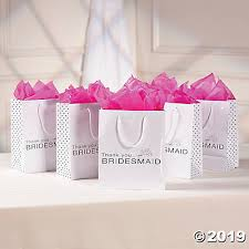 Paper Bridesmaid Gift Bags