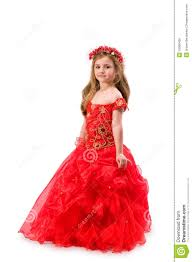 teen girl in red dress royalty free stock image image 16966426