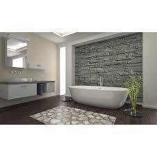 d c floor badezimmer matte comfort new stones 65 cm x 200 cm