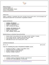 Sample Mba Resumes Stunning How To Write An Excellent Resume Template Of Experienced