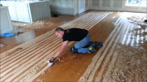 Removing Old Pet Stains From Wood Floors by Hand Scrape Your Hardwood Floors Youtube
