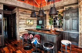 Rustic Small Kitchen Ideas Voguish Image Then