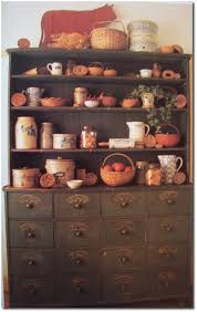 Ebay Vintage China Cabinet by 54 Pictures From Vintage Primitive Decorating Books