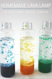 Homemade Lava Lamp Oil And Water Science Experiment