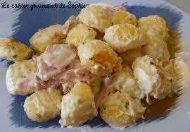 boursin cuisine recettes gnocchis au jambon et boursin recette express le cahier