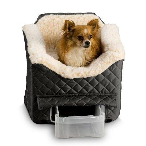 Snoozer Lookout Ii Pet Car Seat - Black, Medium